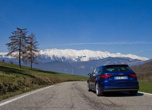 Audi A3 Sportback g-tron a metano provata su strada - Foto 13 di 23