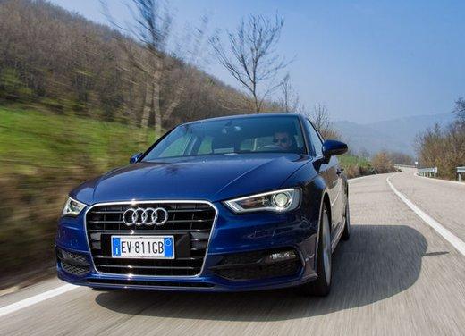 Audi A3 Sportback g-tron a metano provata su strada - Foto 16 di 23