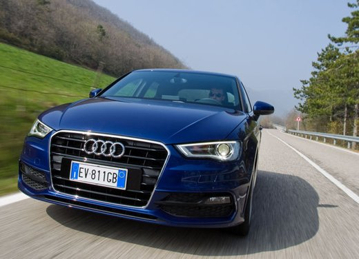 Audi A3 Sportback g-tron a metano provata su strada