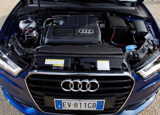 Audi A3 Sportback g-tron a metano provata su strada - Foto 22 di 23