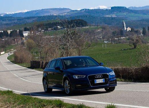 Audi A3 Sportback g-tron a metano provata su strada - Foto 1 di 23