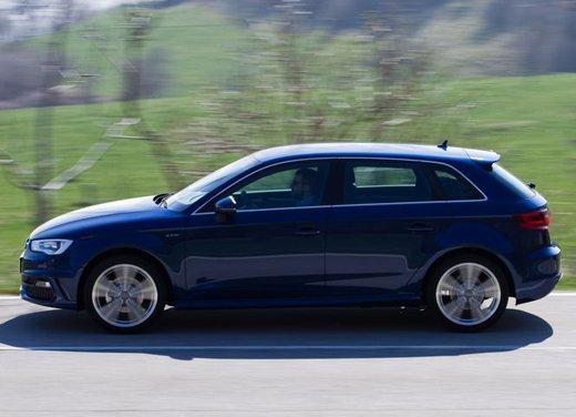 Audi A3 Sportback g-tron a metano provata su strada - Foto 2 di 23