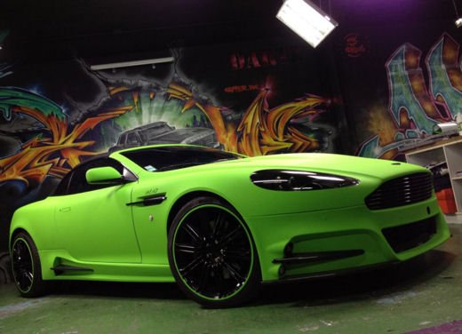 Aston Martin DB9 Mansory by Dartz