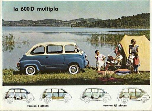 Fiat 600, l'icona del boom economico - Foto 5 di 13