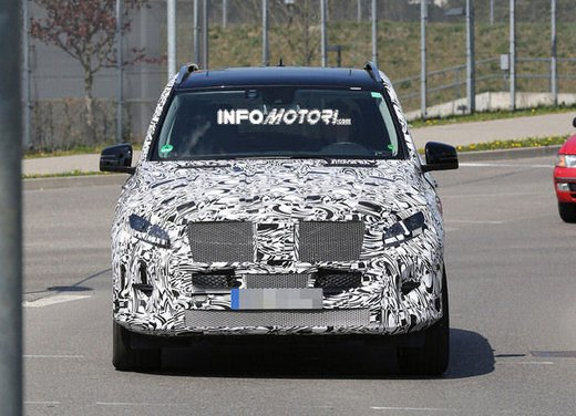 Mercedes ML 2015 facelift foto spia - Foto 5 di 9