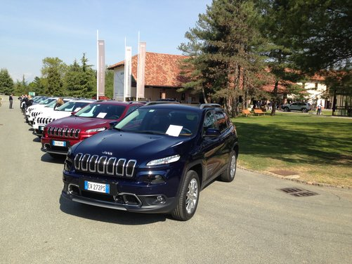 Nuova Jeep Cherokee test drive a Balocco