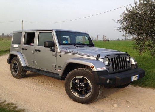 Jeep Wrangler, prova su strada e non solo