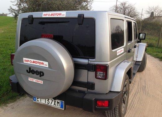 Jeep Wrangler, prova su strada e non solo - Foto 17 di 20