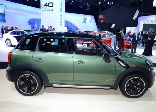 Nuova Mini Countryman debutto al Salone di New York - Foto 3 di 30