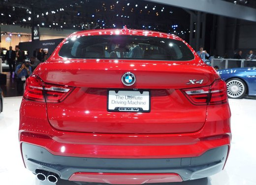 BMW X4 debutta al Salone di New York 2014 - Foto 3 di 7