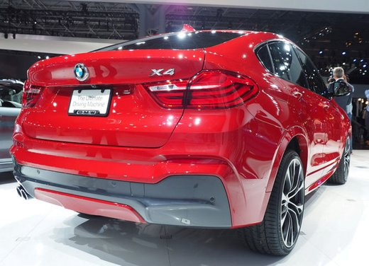 BMW X4 debutta al Salone di New York 2014 - Foto 4 di 7