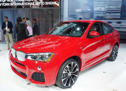 BMW X4 debutta al Salone di New York 2014 - Foto 5 di 7