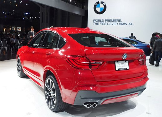 BMW X4 debutta al Salone di New York 2014 - Foto 6 di 7