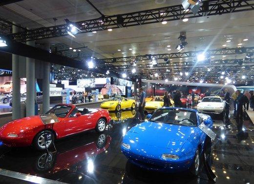Una panoramica degli stand del Salone dell'auto di New York 2014 - Foto 4 di 16