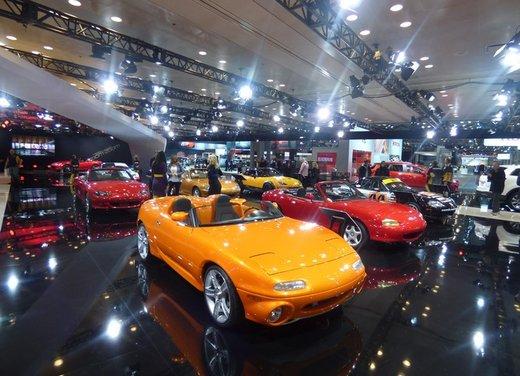 Una panoramica degli stand del Salone dell'auto di New York 2014 - Foto 5 di 16