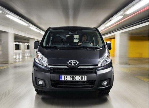 Toyota ProAce il nuovo veicolo commerciale di Toyota