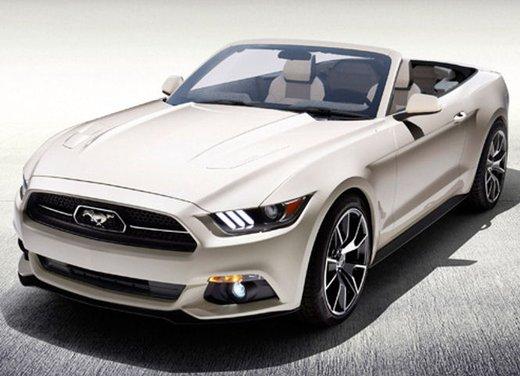 """Ford Mustang """"50 Years"""" Convertible, l'unico esemplare cabrio si vince alla lotteria"""