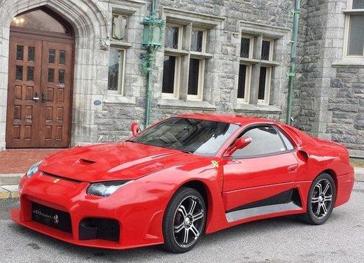 Una replica Ferrari su base Mitsubishi 3000 GT