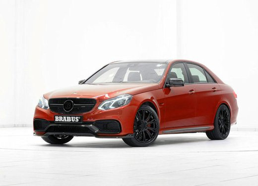 Mercedes E63 AMG 850 6.0 tuning by Brabus