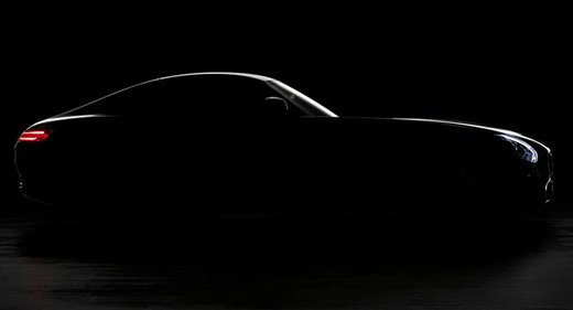 Mercedes AMG GT il teaser ufficiale