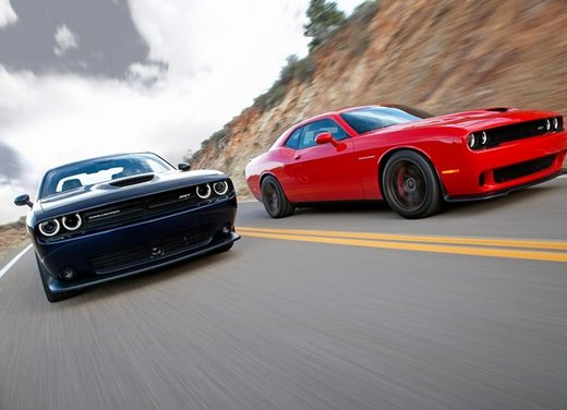 Dodge Challenger SRT MY 2015 la versione Hellcat supera i 600 CV