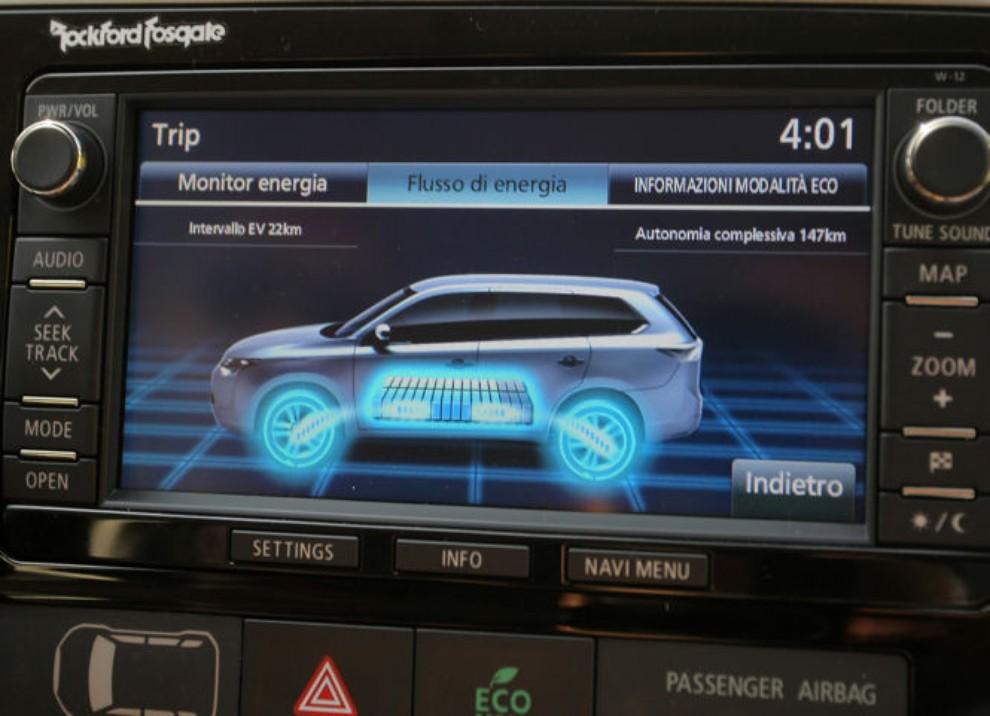 Mitsubishi Outlander Plug In prova su strada - Foto 18 di 21