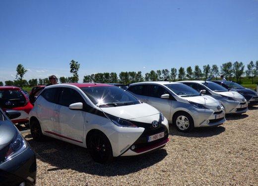 Nuova Toyota Aygo provata su strada ad Amsterdam