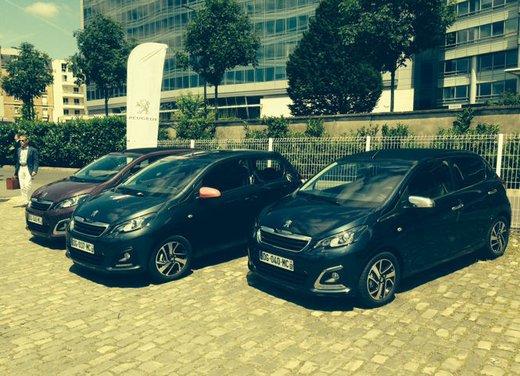 Nuova Peugeot 108 prova su strada, motorizzazioni e prezzi
