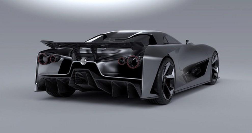 Nissan 2020 Vision Gran Turismo, il prototipo diventa concept - Foto 5 di 14