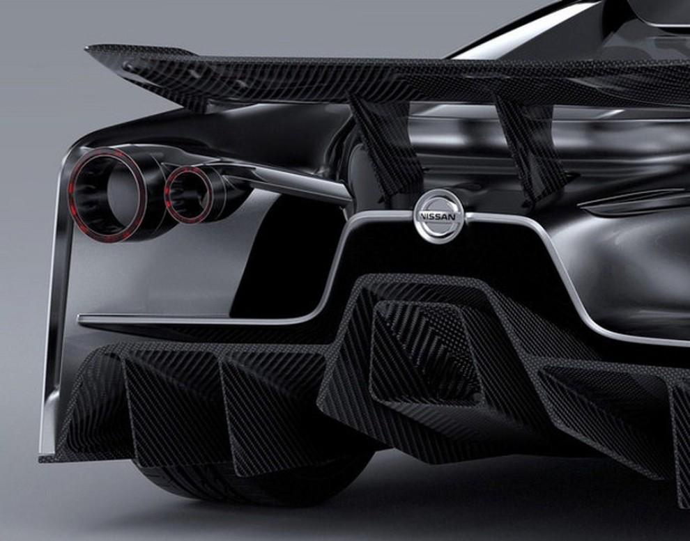 Nissan 2020 Vision Gran Turismo, il prototipo diventa concept - Foto 7 di 14