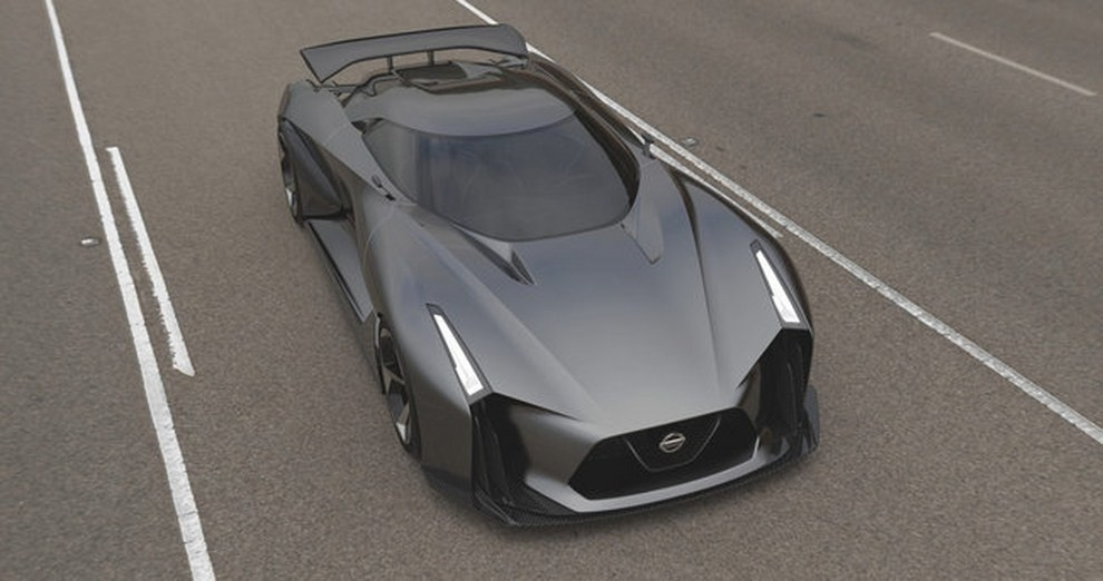 Nissan 2020 Vision Gran Turismo, il prototipo diventa concept - Foto 11 di 14