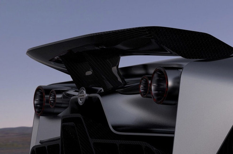 Nissan 2020 Vision Gran Turismo, il prototipo diventa concept - Foto 2 di 14