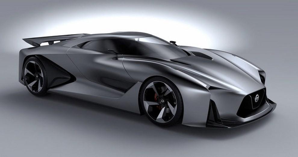 Nissan 2020 Vision Gran Turismo, il prototipo diventa concept - Foto 3 di 14