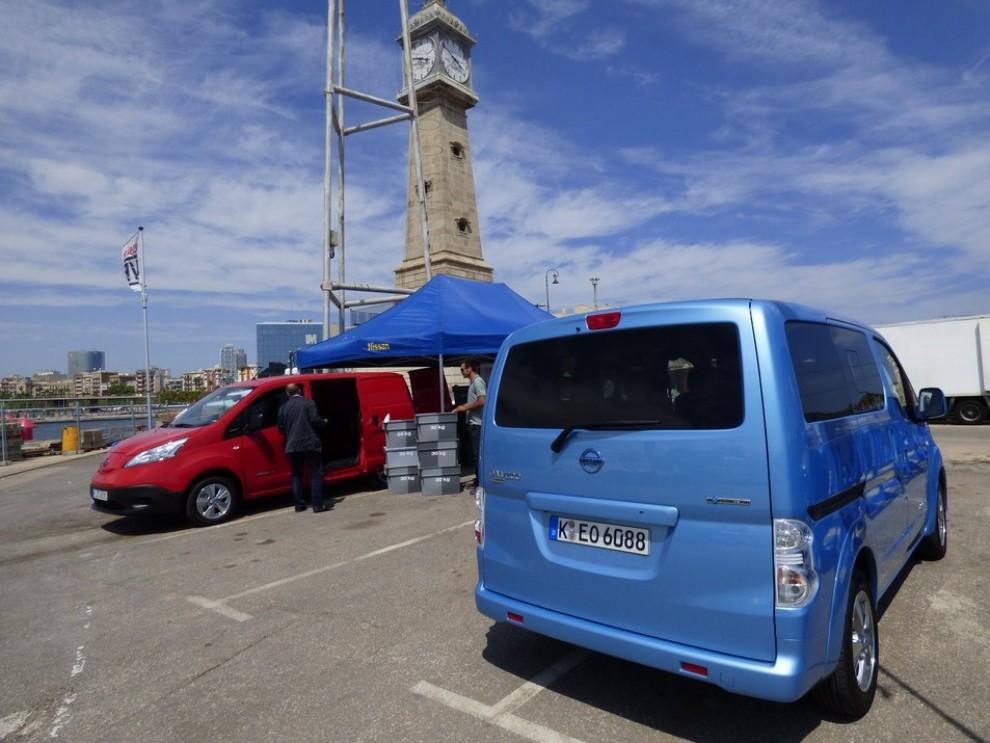 Nissan e-NV200 Evalia provato su strada a Barcellona il multispazio elettrico giapponese - Foto 23 di 40