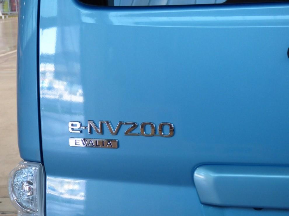 Nissan e-NV200 Evalia provato su strada a Barcellona il multispazio elettrico giapponese - Foto 2 di 40