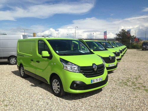 Nuovo Renault Trafic provato su strada a Copenhagen