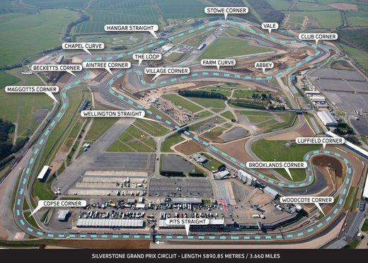 Formula 1 GP Silverstone 2014, orari TV del Gran Premio d'Inghilterra di F1