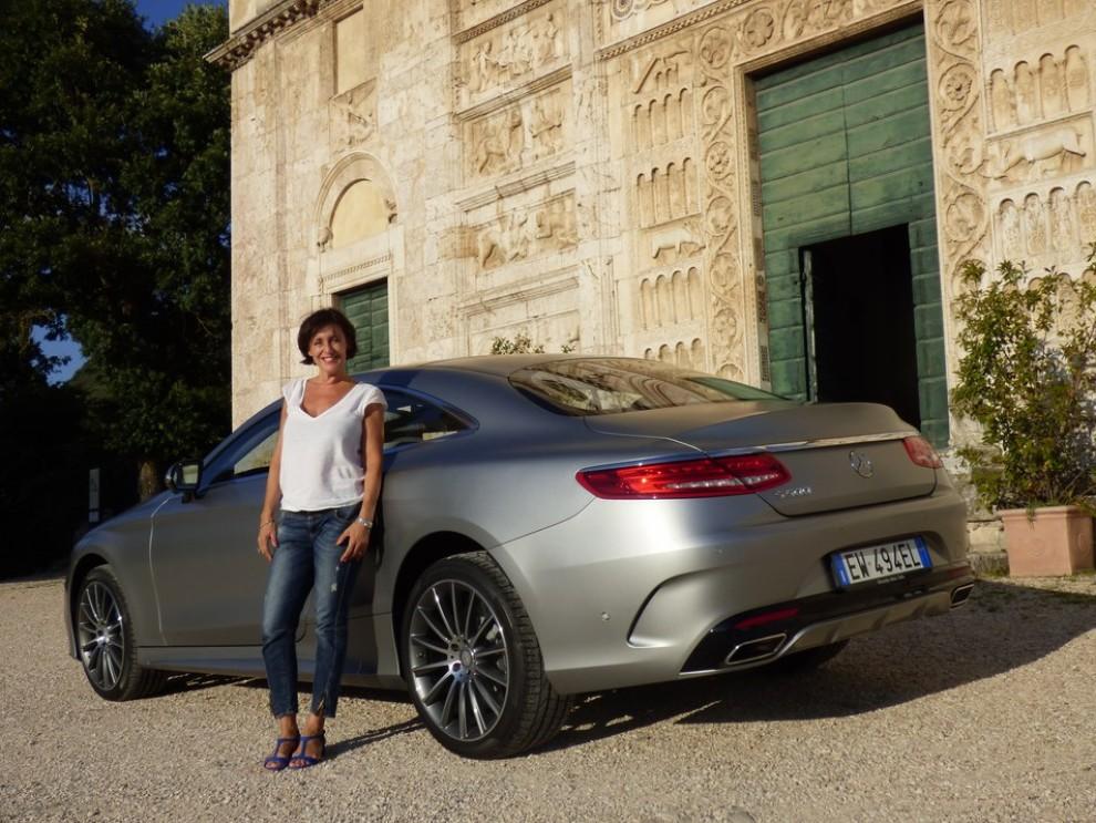 nuova mercedes classe s coupè provata su strada a roma - infomotori