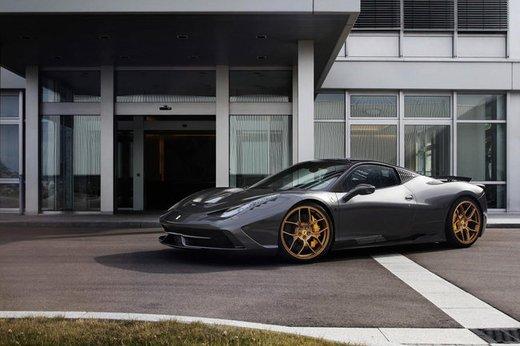Ferrari 458 Speciale by Novitec Rosso da 636 CV
