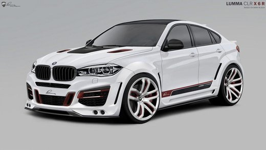 BMW X6 CLR X 650 by Lumma
