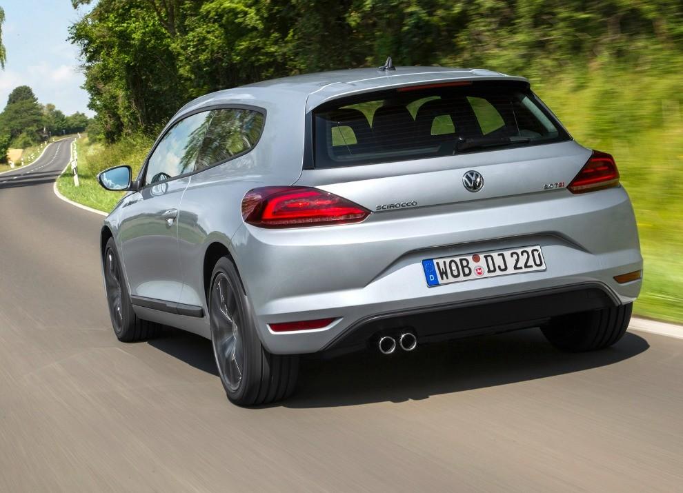 Nuova Volkswagen Scirocco prestazioni, consumi e nuove foto - Foto 6 di 31