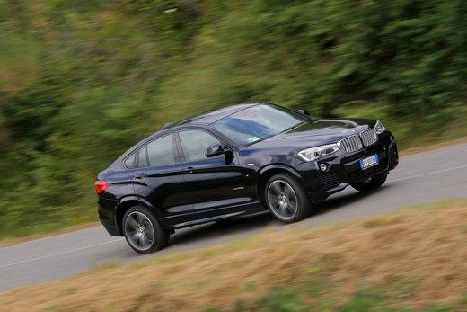 BMW X4 prova su strada, prestazioni e prezzi
