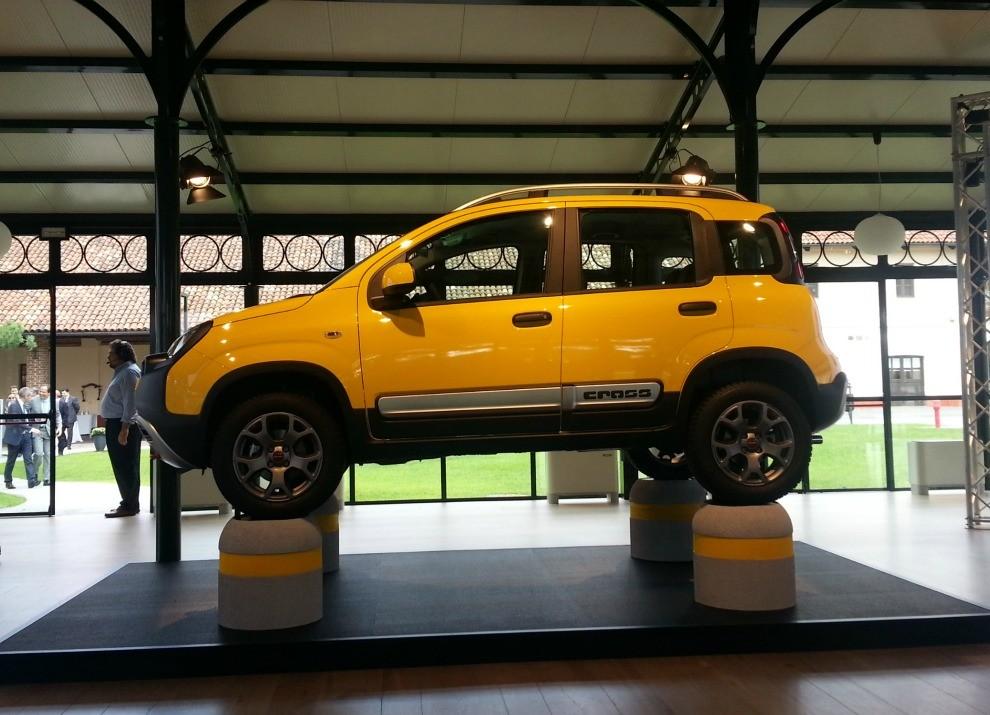 Fiat Panda Cross provata in pista a Balocco - Foto 6 di 15
