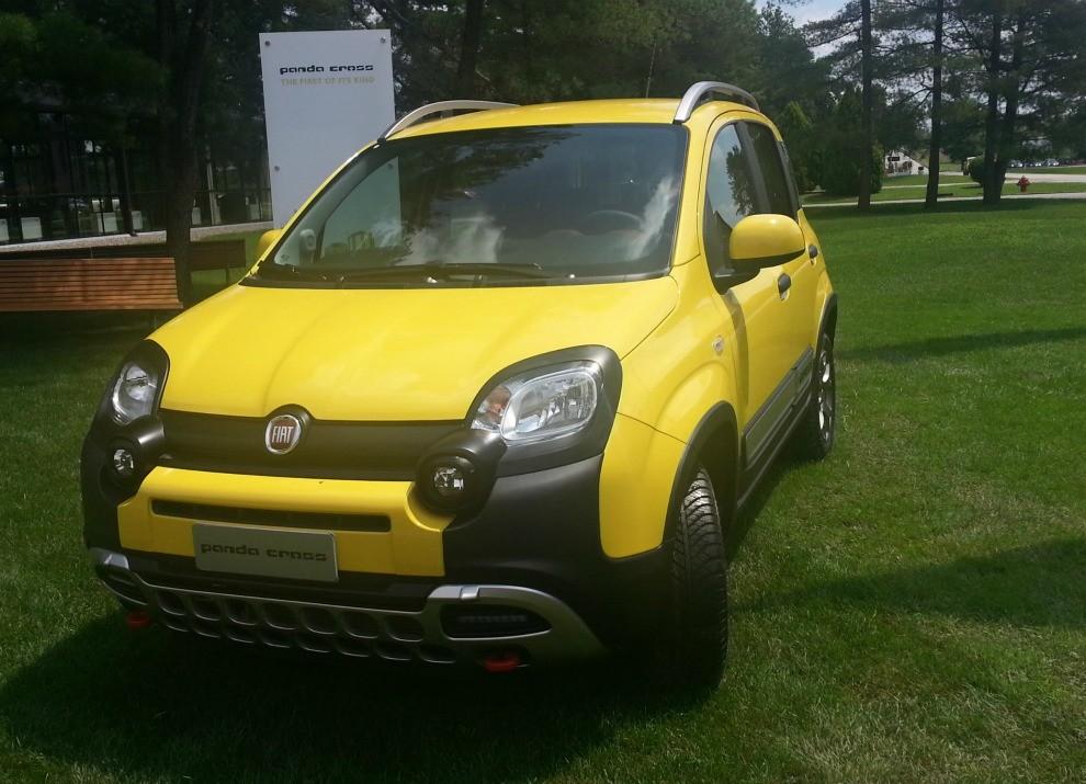 Fiat Panda Cross provata in pista a Balocco - Foto 7 di 15