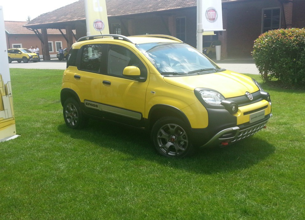 Fiat Panda Cross provata in pista a Balocco - Foto 8 di 15
