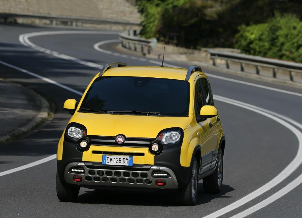 Fiat Panda Cross provata in pista a Balocco - Foto 10 di 15