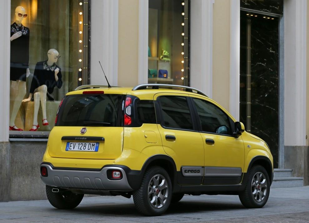 Fiat Panda Cross provata in pista a Balocco - Foto 11 di 15