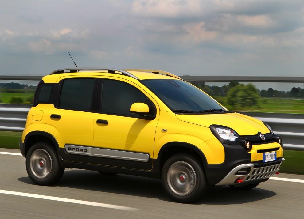 Fiat Panda Cross provata in pista a Balocco - Foto 13 di 15