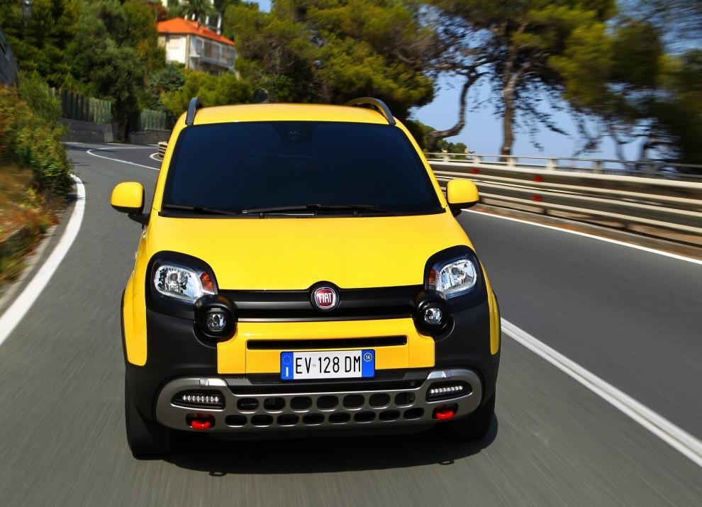 Fiat Panda Cross provata in pista a Balocco - Foto 14 di 15