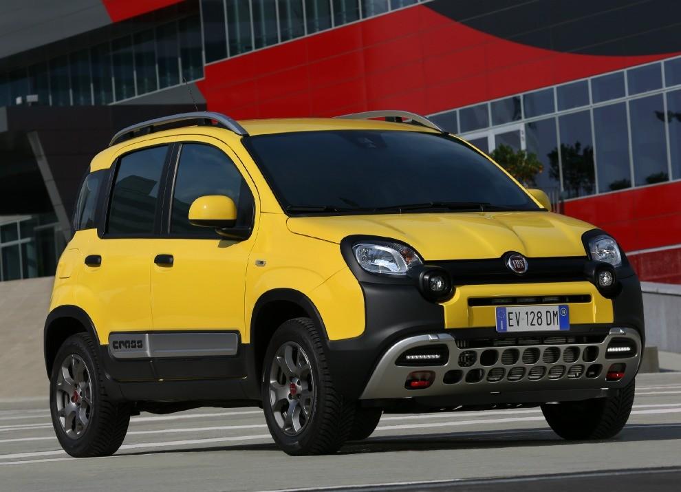Fiat Panda Cross provata in pista a Balocco - Foto 1 di 15